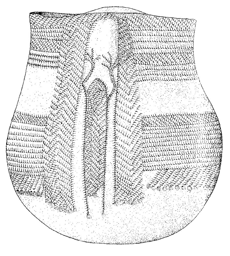 Calco de vaso de cerámica