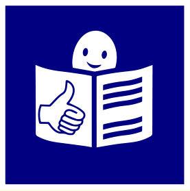 Logotipo de lectura fácil